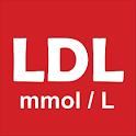 LDL-C - LDL cholesterol mmol/L icon