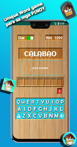 CRAZYWORD u25b2 UNIQUE WORD GAME (Filipino, English) android2mod screenshots 1