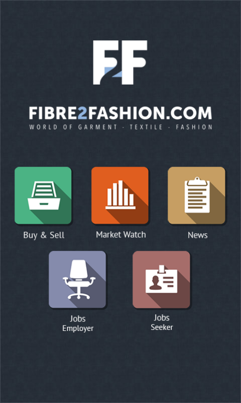 Fibre2fashion- B2B Marketplace- screenshot