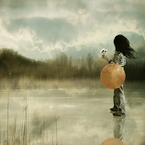 where have all the flowers gone by Yolita Yo - Digital Art Places