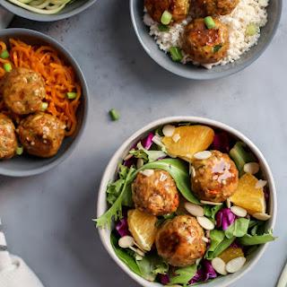 Veggie-Packed Salmon Meatballs with Orange Teriyaki Glaze Recipe