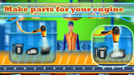 Sports Motorcycle Factory: Motorbike Builder Games  screenshots 12