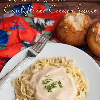 Roasted Garlic Cauliflower Cream Sauce