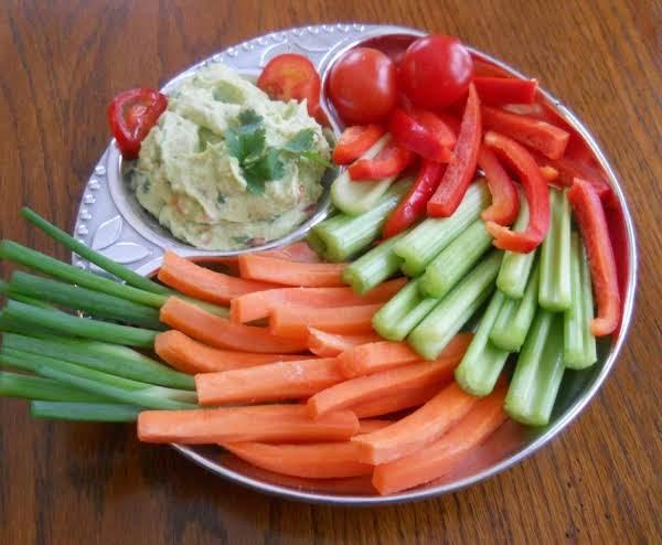 Creamy Avocado Veggie Dip Or Sandwich Spread
