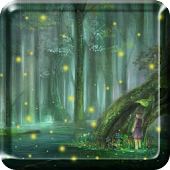 Fireflies Droplets LWP PRO HD