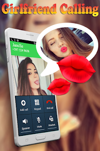 Fake Call and Chat Message Girlfriend - náhled
