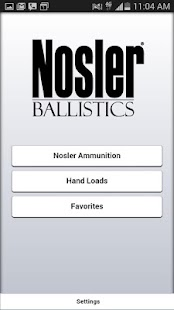 Nosler Ballistics 2.0- screenshot thumbnail