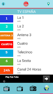 Radios y TV Español - náhled