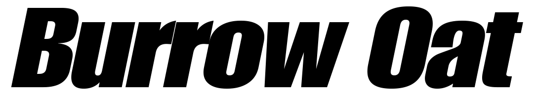 Burrow Oat Logo