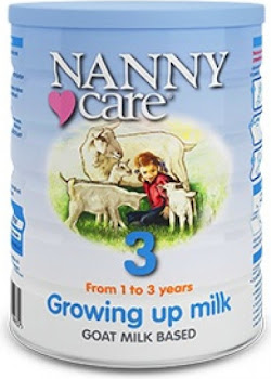 NANNYcare Growing Up Milk - Stage 3, From 1 to 3 Years, 900g
