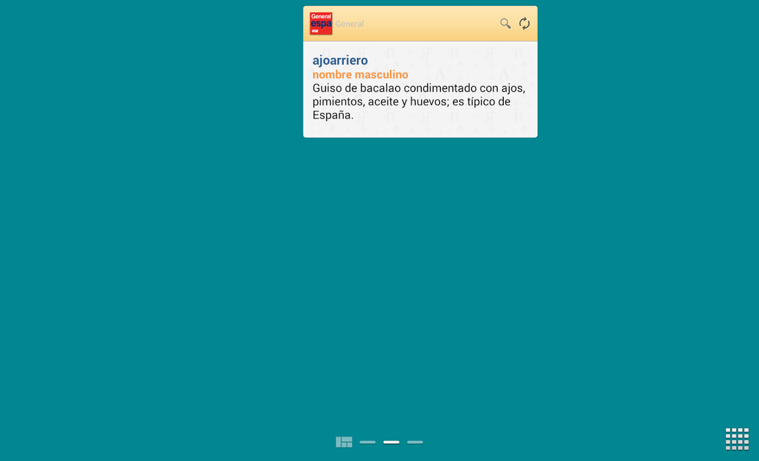 Vox General Spanish LanguageTR - screenshot