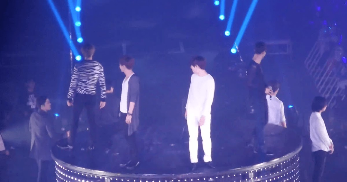 Super Junior makes a platform error during