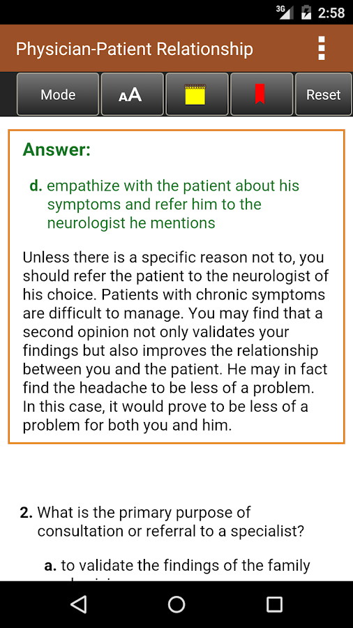 Swanson's Family Medicine Review, 7th Edition- screenshot