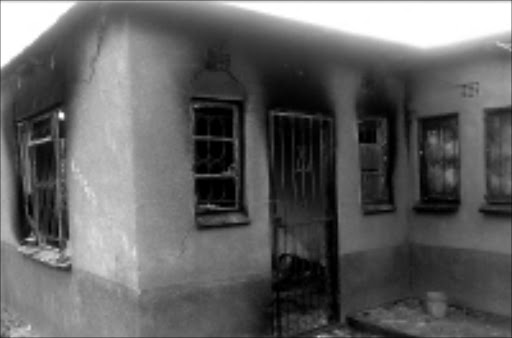 SHELL: Khensani Sannie Phakula lost her life in the fire that destroyed her home. © Sowetan.