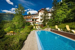 Schwimming Pool Hotel Alpenblick