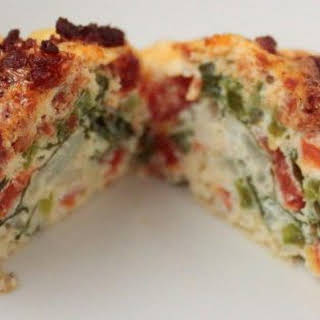 Spinach and Sausage Egg Bites.