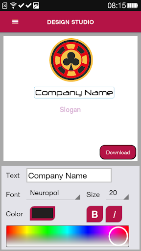 Free Logo Maker - DesignMantic 3.0 screenshots 6