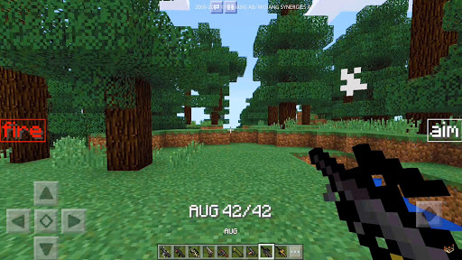 Brutal guns mod for the MCPE for PC