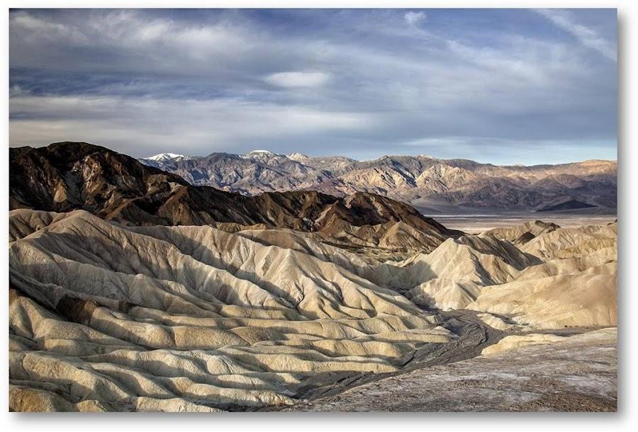 Zabriskie Point Morning Light by Terry Scussel - Landscapes Deserts ( death valley, zabriskie point )