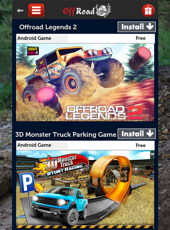 store apps category GAME RACING