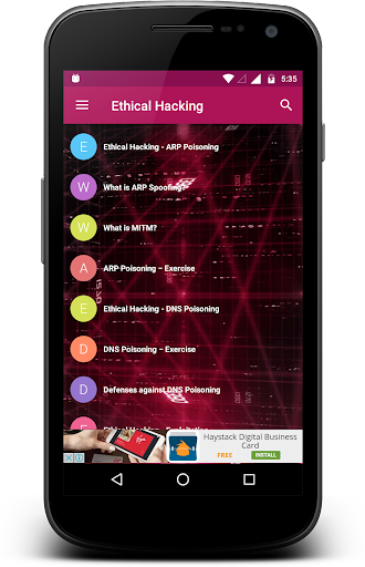 Ethical Hacking 2.1 screenshots 4