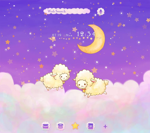 Fluffy Sheep beautiful Theme Screenshot