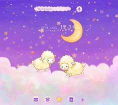 Fluffy Sheep beautiful Theme - screenshot thumbnail 01