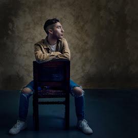 by Kelley Hurwitz Ahr - People Portraits of Men ( kelley hurwitz ahr, portrait, male, fashion shoot )
