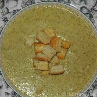 Broccoli Overload Soup.