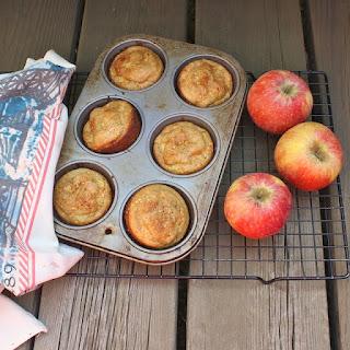 Apple Cornmeal Muffins.