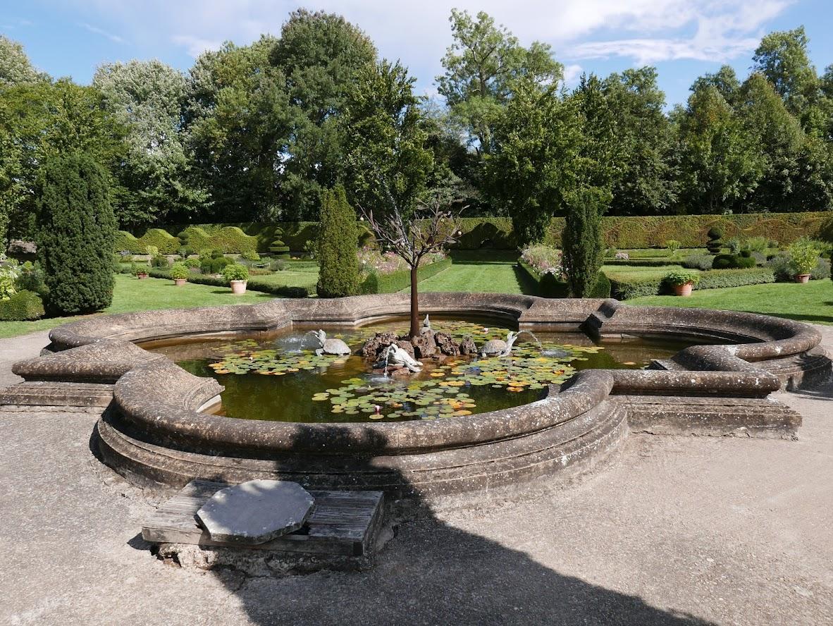 Jardin du Château de Cormatin