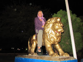 Photo: Day 151 - Dee on Lion at Koohsangi Park