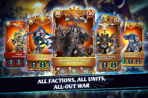 Warhammer Combat Cards - 40K Edition 29.13 screenshots 1