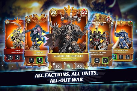 Warhammer Combat Cards – 40K Edition 1
