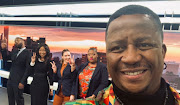 DJ Fresh and the Newzroom Afrika morning squad.