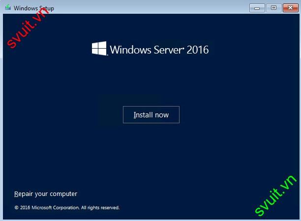 install windows server 2016 (2)