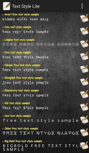 Text Styles BBM Ready