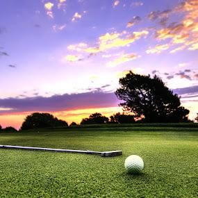 Is It Wednesday Yet by DE Grabenstein - Sports & Fitness Golf ( golf ball, golf clubs, golf, nebraska )