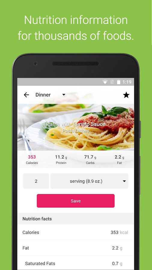 Calorie Counter & Diet Tracker - Android Apps on Google Play