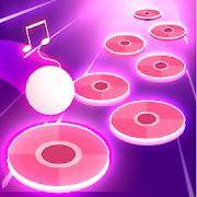 Pink Tiles Hop 3D - Dancing Music Game