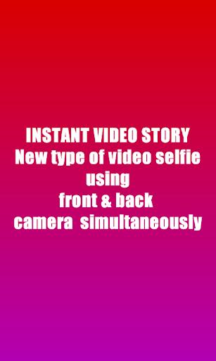 Instant Video Rec - Video Story Maker screenshot 1