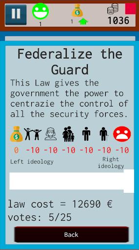 Parliament Tycoon Lite 1.2.37 screenshots 2