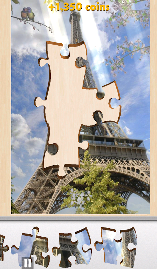 Live Jigsaws -  World Wonders- screenshot