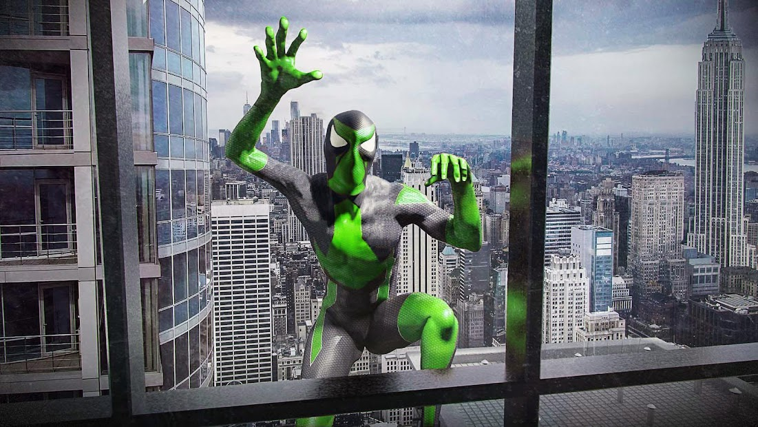 Rope Frog Ninja Hero - Strange Gangster Vegas Android App Screenshot