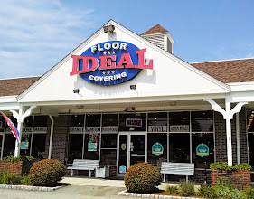 Photo: Ideal Floor Covering in Falmouth, MA proudly displaying their BBB Accreditation