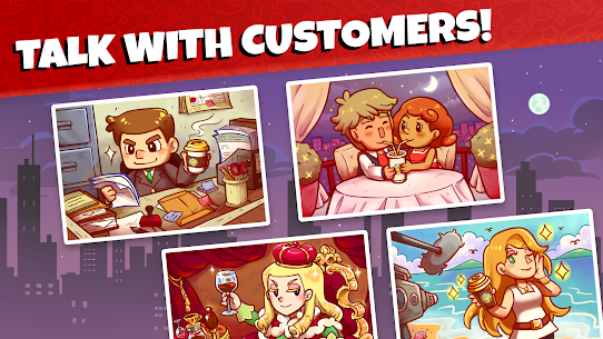 Own Coffee Shop: Idle Tap Game Apk Download For Android and Iphone 4
