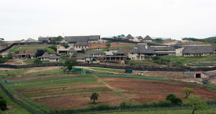 President Jacob Zuma's Nkandla home is seen as an example of corruption in SA. Picture: SUNDAY TIMES