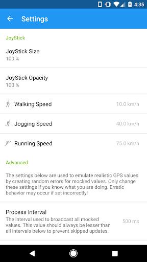 GPS JoyStick Fake GPS Location screenshot 7