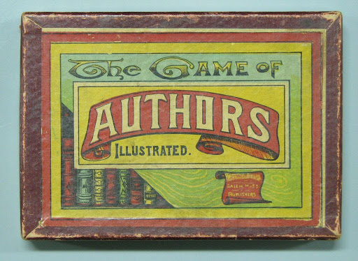 Card game:The Game of Authors Illustrated.