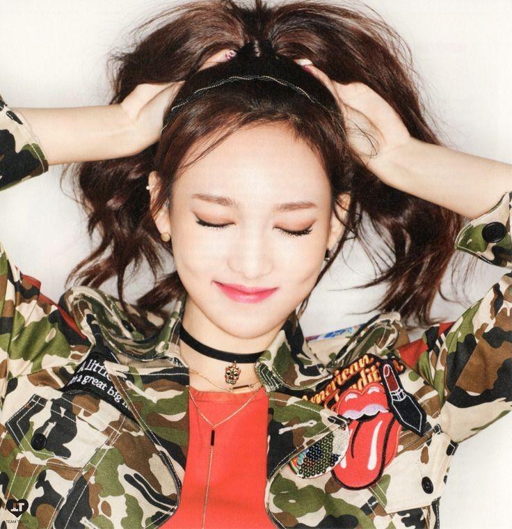 nayeon like ooh aah